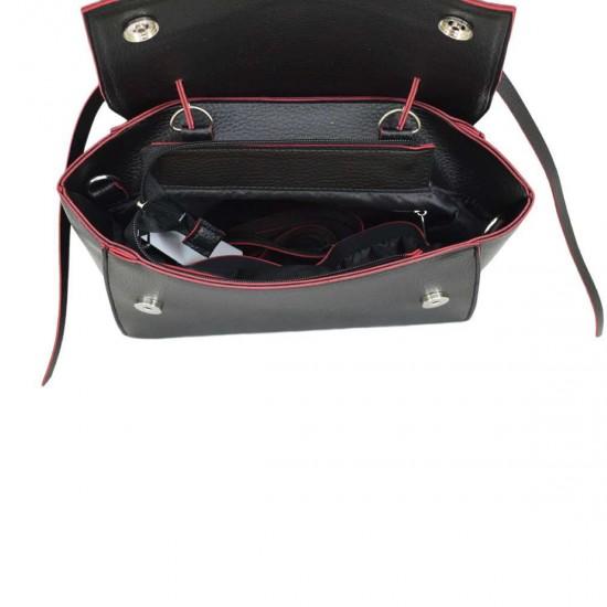 Жіноча модельна сумочка LUCHERINO 598 чорний