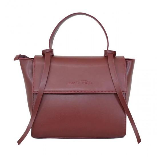 Женская модельная сумочка LUCHERINO 598 бордовый