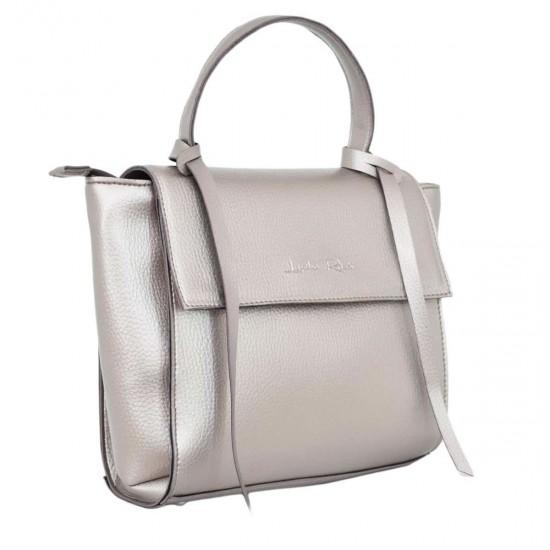 Женская модельная сумочка LUCHERINO 598 серебро