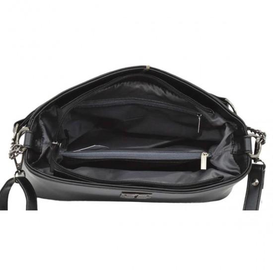 Женская модельная сумочка LUCHERINO 628 черный