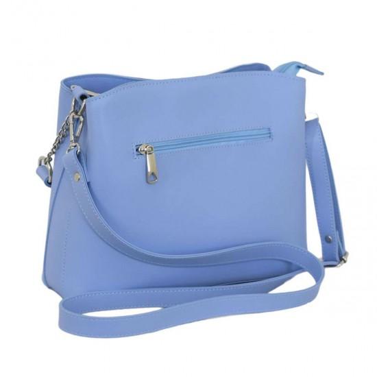 Женская модельная сумочка LUCHERINO 628 голубой
