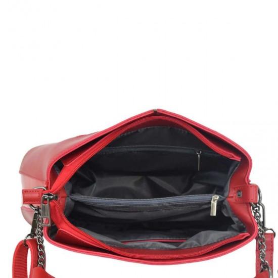Женская модельная сумочка LUCHERINO 628 красный