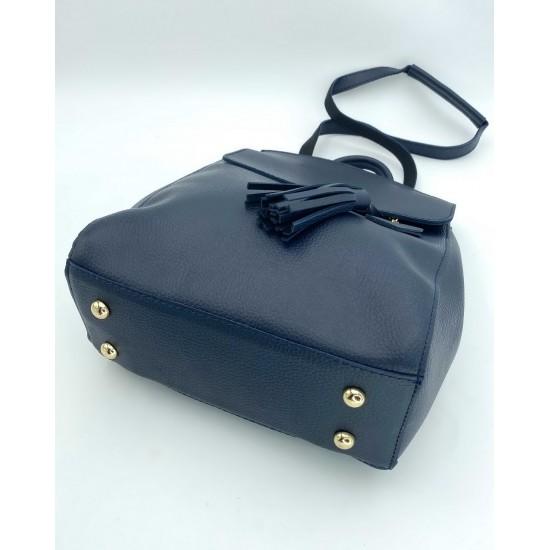 Жіночий рюкзак WELASSIE Серце синій