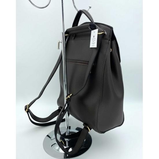 Жіночий рюкзак WELASSIE Серце шоколадний