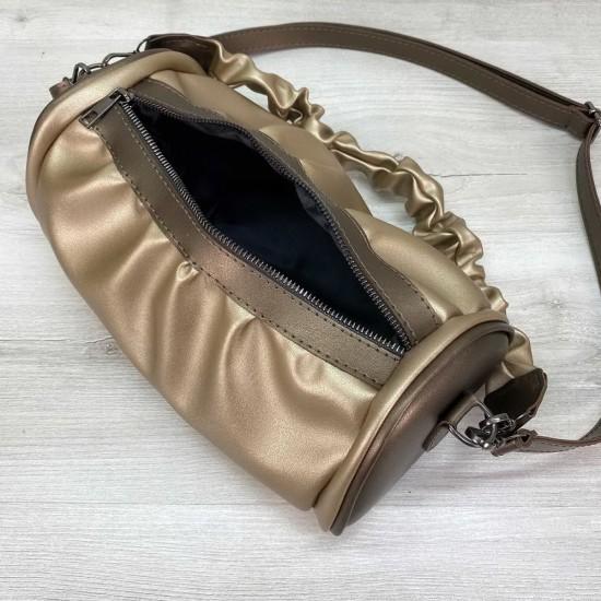 Жіноча модельна сумочка WELASSIE Lola золото