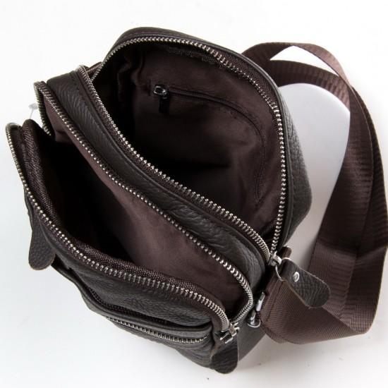 Мужская сумка-планшет из натуральной кожи dr.Bond 6625 кофейный