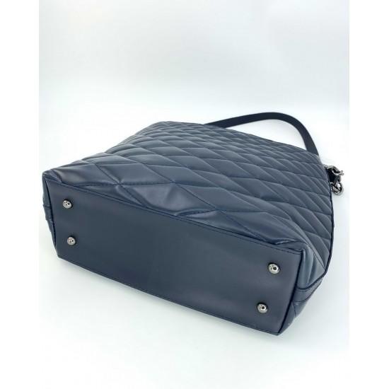 Жіноча модельна сумка WELASSIE Ермін темно-синій