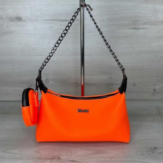 Жіноча сумка через плече WELASSIE Лойс помаранчевий