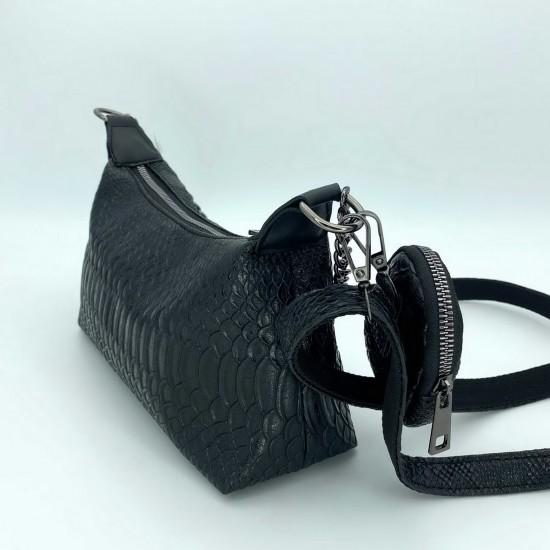 Женская сумка через плечо WELASSIE Лойс черный