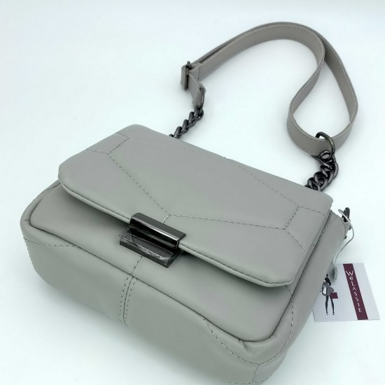 Жіноча сумка через плече WELASSIE Санді сірий