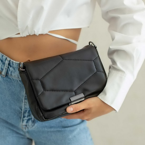 Жіноча сумка через плече WELASSIE Санді чорний