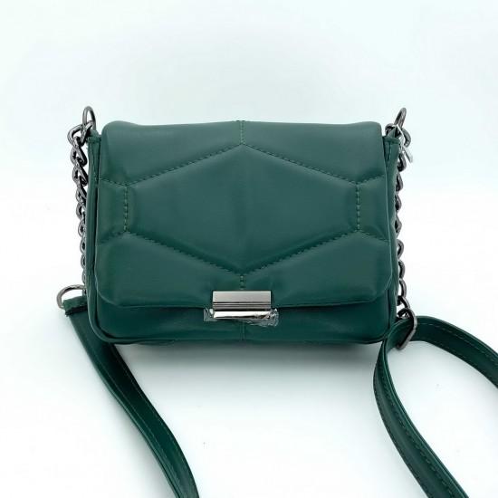 Жіноча сумка через плече WELASSIE Санді зелений