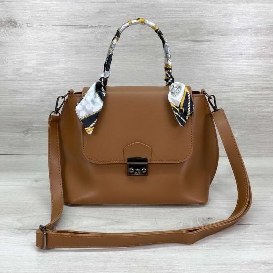 Жіноча модельна сумочка WELASSIE Ліам рудий
