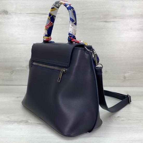 Жіноча модельна сумочка WELASSIE Ліам темно-синій