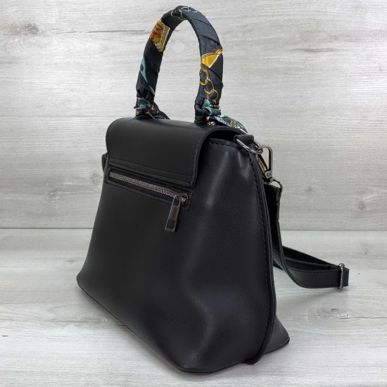 Жіноча модельна сумочка WELASSIE Ліам чорний
