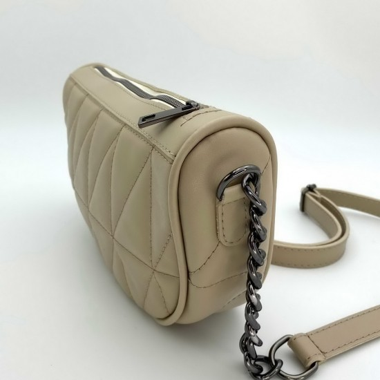 Жіноча модельна сумочка WELASSIE Лайзи бежевий