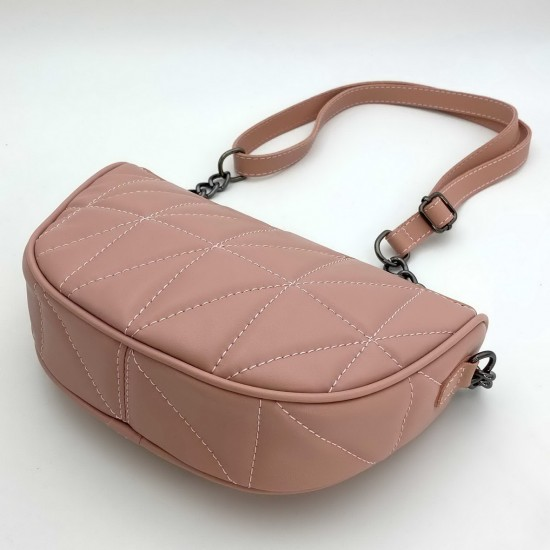 Жіноча модельна сумочка WELASSIE Лайзи пудра