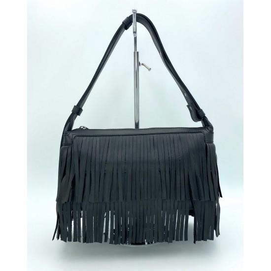Женская модельная сумочка WELASSIE Догги черный