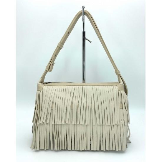 Женская модельная сумочка WELASSIE Догги бежевый
