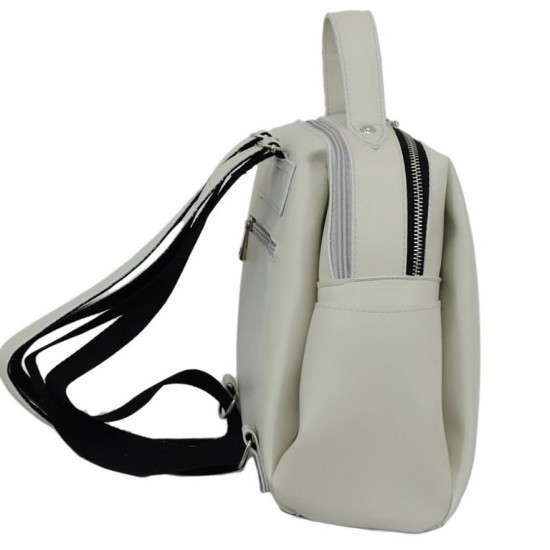 Жіноча рюкзак LUCHERINO 660 айворі