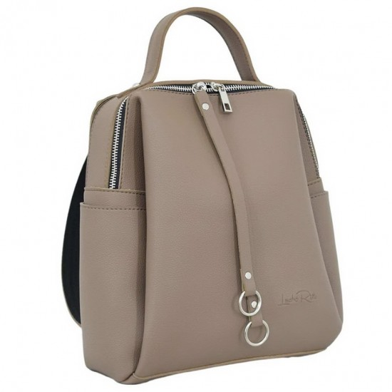 Жіноча рюкзак LUCHERINO 660 капучіно