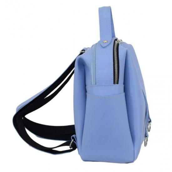 Жіноча рюкзак LUCHERINO 660 блакитний