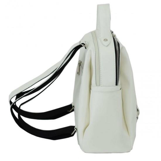 Жіноча рюкзак LUCHERINO 660 білий
