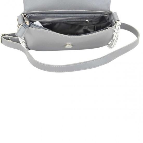 Жіноча сумочка з натурального замша LUCHERINO 626 сірий