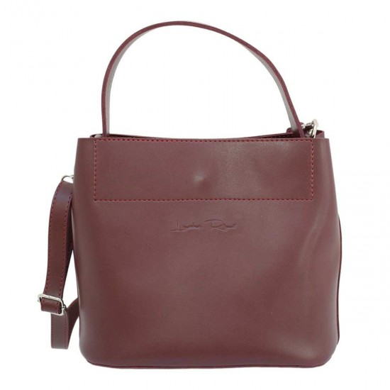 Жіноча модельна сумка LUCHERINO  516 бордовий