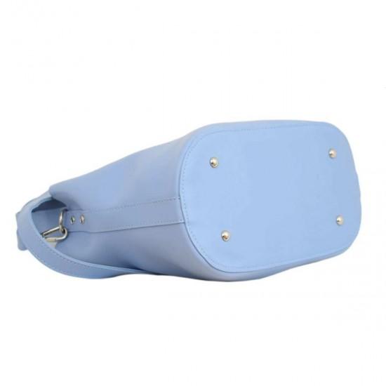 Женская модельная сумка LUCHERINO 516 голубой
