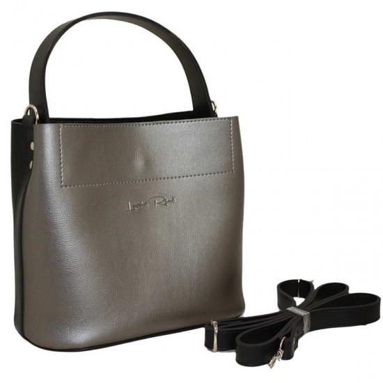 Женская модельная сумка LUCHERINO 516 серебро