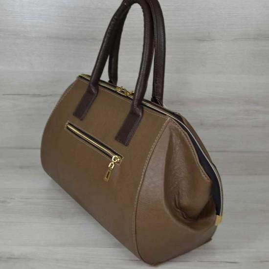Жіноча модельна сумка WELASSIE Олівія кавовий
