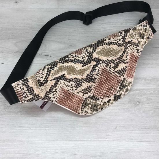 Женская сумочка на пояс WELASSIE Эмма бежевый