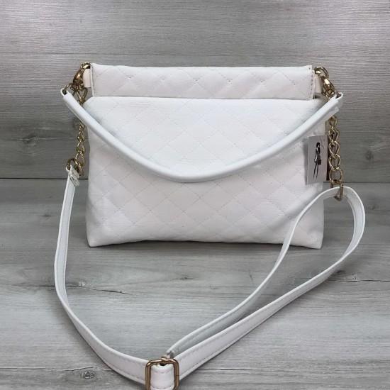 Жіноча сумочка клатч WELASSIE Ava білий