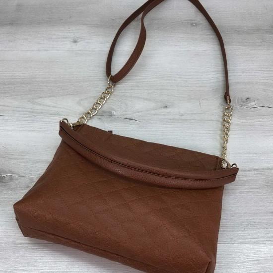 Женская сумочка клатч WELASSIE Ava рыжий