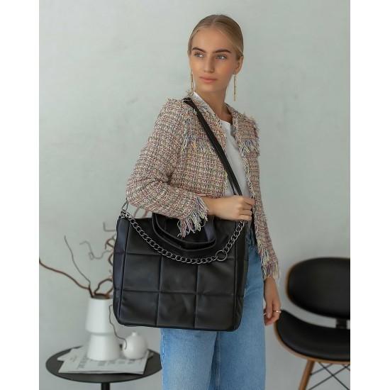 Женская модельная сумка WELASSIE Дэйна черный