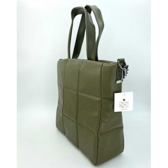 Жіноча модельна сумка WELASSIE Дейна оливковий