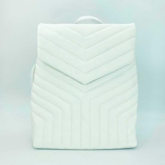 Жіноча модельна сумка-рюкзак WELASSIE Луки білий