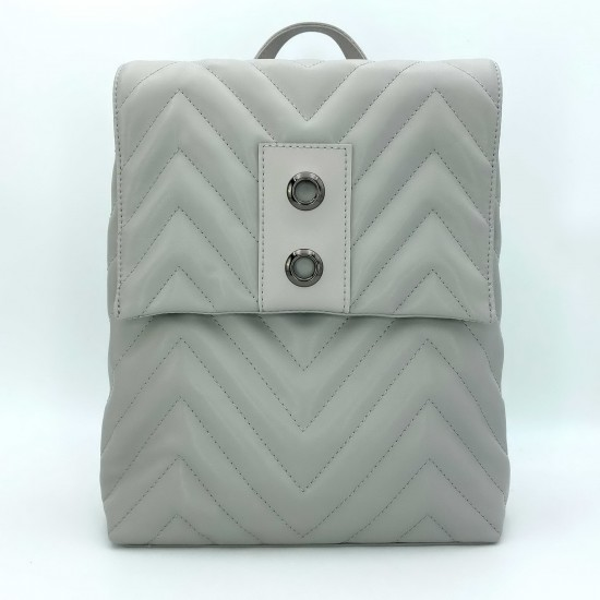 Женская модельная сумка-рюкзак WELASSIE Харпер серый