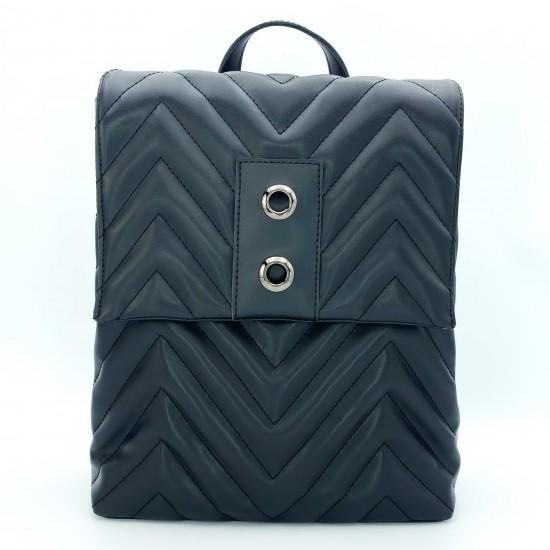 Жіноча модельна сумка-рюкзак WELASSIE Харпер чорний