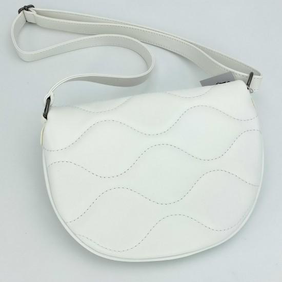 Женская сумочка через плечо WELASSIE Джасти белый