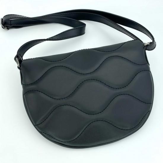 Жіноча сумочка через плече WELASSIE Джаст чорний