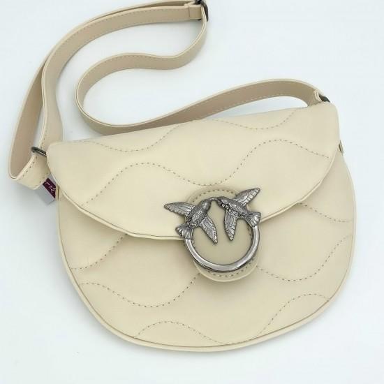 Жіноча сумочка через плече WELASSIE Джаст бежевий