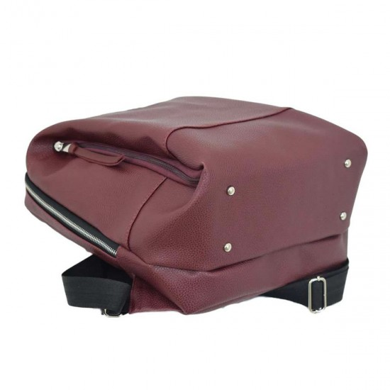 Женская рюкзак LUCHERINO 606 бордовый