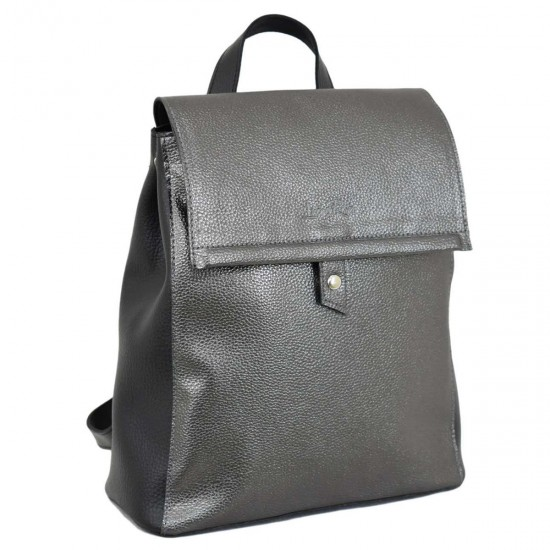 Женская рюкзак LUCHERINO 608 серебро