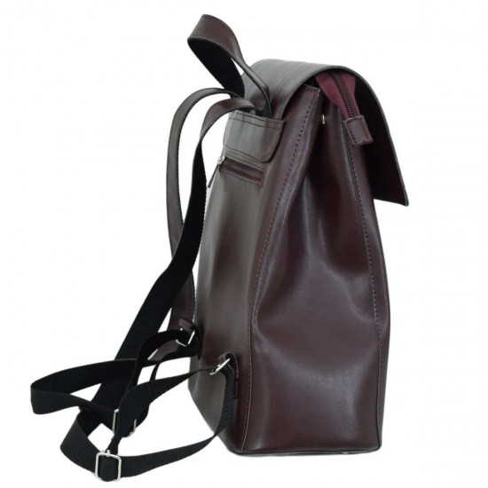Женская рюкзак LUCHERINO 608 бордовый