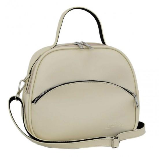 Женская сумочка LUCHERINO 672 бежевый