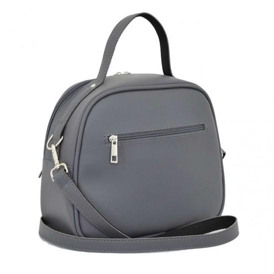 Жіноча сумочка LUCHERINO 672 сірий