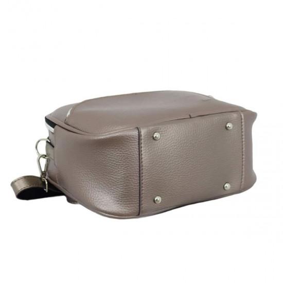 Женская сумочка LUCHERINO 672 бронзовый
