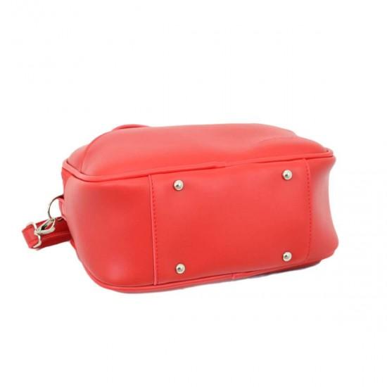 Жіноча сумочка LUCHERINO 672 червоний